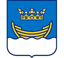 Helsinki Coat of Arms Photographic Print