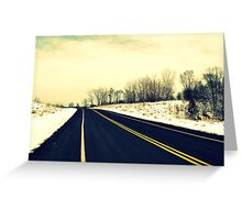 Freedom Ahead Greeting Card