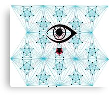 The Eye Chameleon  Canvas Print