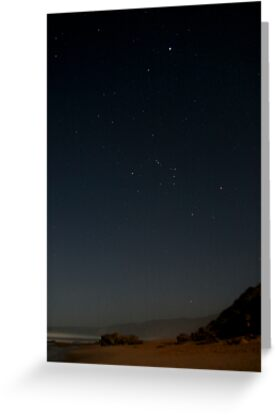 Johanna Beach - Orion Setting II by Richard Heath