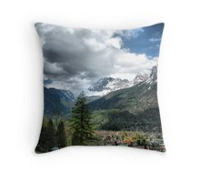 Mittenwald Germany Throw Pillow