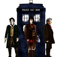 Doctor Who - The 3 War Doctors by Chris Singley