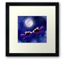 Lover's Moon Framed Print