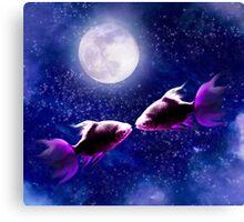 Lover's Moon Canvas Print