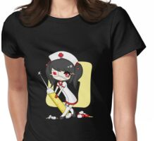 Slutty Nurse Womens Fitted T-Shirt