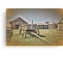 Back In 1880 Canvas Print