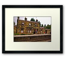 Booking Office - Goathland Station. Framed Print