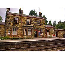 Booking Office - Goathland Station. Photographic Print