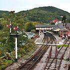 Llangollen Station by Geoff Carpenter