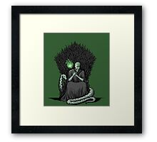 Game of Wands Framed Print