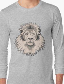 Lion Head Long Sleeve T-Shirt