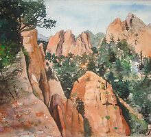 Garden of the Gods Colorado by Musetta