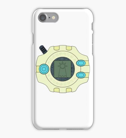 Digimon digivice Hope iPhone Case/Skin