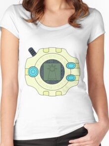 Digimon digivice Hope Women's Fitted Scoop T-Shirt