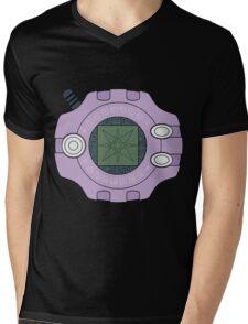 Digimon digivice Light Mens V-Neck T-Shirt