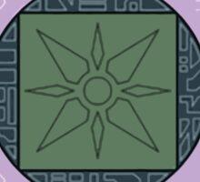 Digimon digivice Light Sticker
