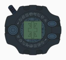 Digimon digivice Reliability Kids Tee