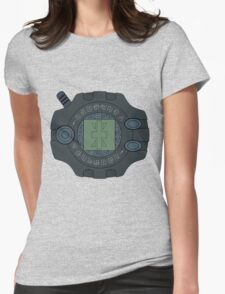 Digimon digivice Reliability Womens Fitted T-Shirt