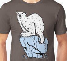 Polar bear in wild Unisex T-Shirt