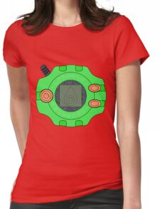 Digimon digivice Sincerity Womens Fitted T-Shirt