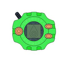 Digimon digivice Sincerity by Zanie