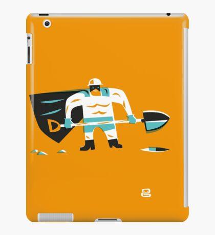 Super D (m) iPad Case/Skin