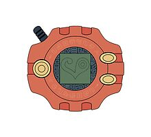 Digimon digivice Love by Zanie