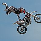 Freestyle Motocross Superstar  #2 by Chuck Gardner