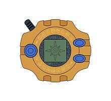 Digimon digivice Courage by Zanie