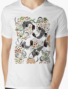 Jewelry Koi Mens V-Neck T-Shirt