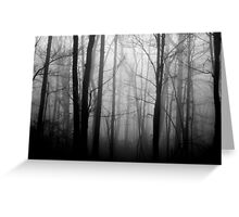 The Forest and the Fog 2 Greeting Card