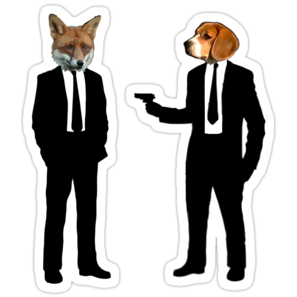 Beagle Killed Fox by Kelvin Giraldo