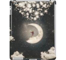 The Big Journey of the Man on the Moon iPad Case/Skin
