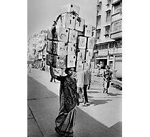 Delhi street scene,India 2004. Photographic Print