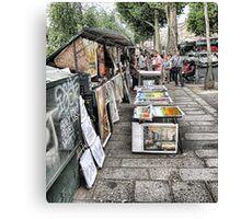 Street sales Canvas Print