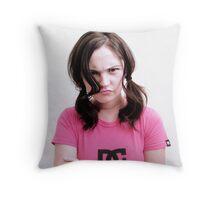 The Pout Throw Pillow