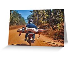 Heavy transport Greeting Card