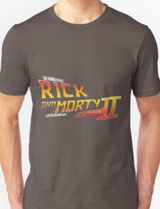 Rick and Morty Season 2 - BTTF Logo Unisex T-Shirt