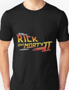 Rick and Morty Season 2 - BTTF Logo T-Shirt
