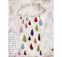 The rain cloud Photographic Print