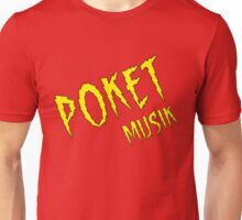Electric Poket Musik Unisex T-Shirt