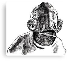 Admiral Ackbar (It's A Trap!) Canvas Print