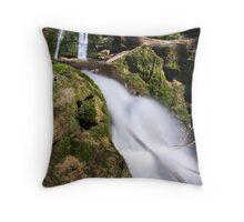 Janet's Foss, Malham Throw Pillow
