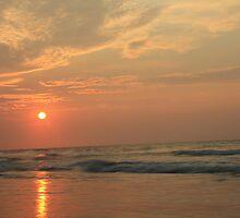Myrtle beach sunrise by Forrest Tainio