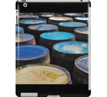 Islay whisky barrels iPad Case/Skin