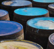 Islay whisky barrels Sticker