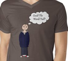 Could The World Fall? Mens V-Neck T-Shirt