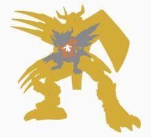 Digimon Agumon warp digivolve to WarGreymon Kids Clothes