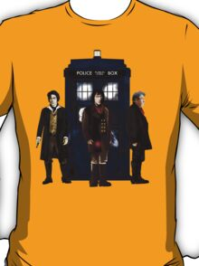 Doctor Who - The 3 War Doctors T-Shirt