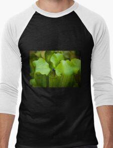 Pitcher plant Men's Baseball ¾ T-Shirt